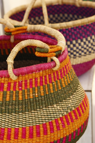baskets by Petty Sheppard