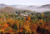 Highlands, NC in autumn, circa 1999