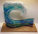 glass art by Terri Johansson